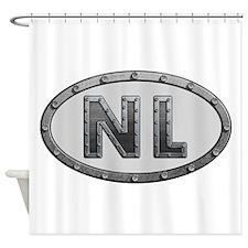 NL Metal Shower Curtain