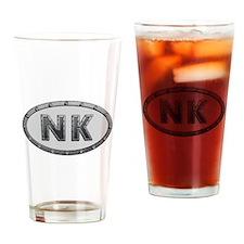 NK Metal Drinking Glass