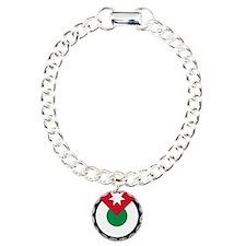 Royal Jordanian AF roundel Charm Bracelet, One Cha