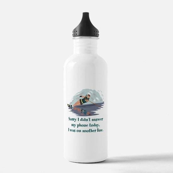 Cute Waterski Water Bottle
