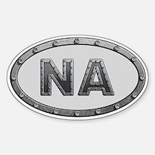 NA Metal Decal