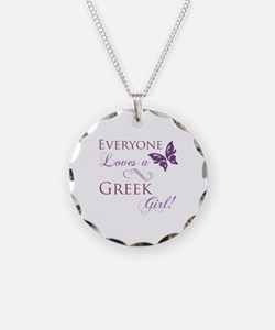 Greek Girl Necklace