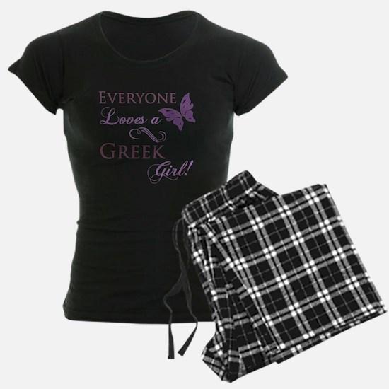 Greek Girl Pajamas