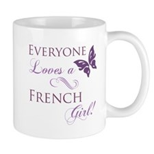 French Girl Mug