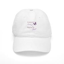 French Girl Baseball Cap