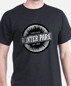 Winter Park Ski Resort Colorado Black T-Shirt