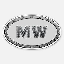 MW Metal Decal