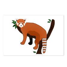 Red Panda Postcards (Package of 8)
