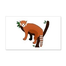 Red Panda Wall Sticker
