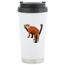 Red Panda Travel Coffee Mug