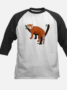 Red Panda Kids Baseball Jersey
