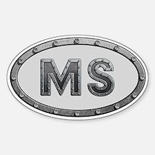 MS Metal Decal