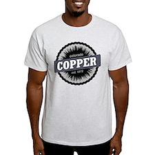 Copper Mountain Ski Resort Colorado Black T-Shirt