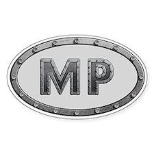 MP Metal Decal