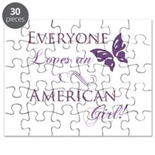 American Girl Puzzle