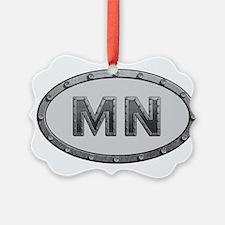 MN Metal Ornament