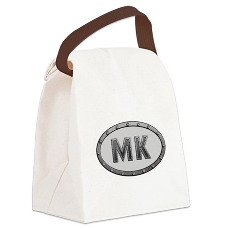 MK Metal Canvas Lunch Bag