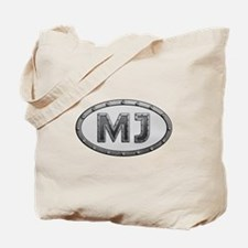 MJ Metal Tote Bag
