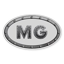 MG Metal Decal