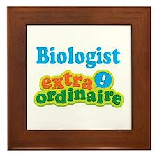 Biologist Extraordinaire Framed Tile
