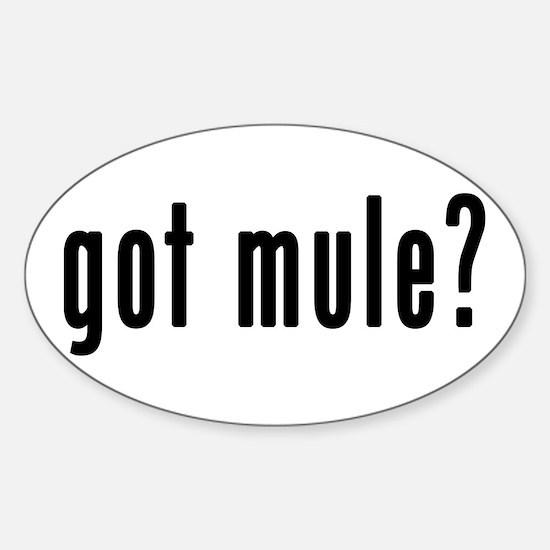 GOT MULE Decal