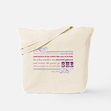 Charge Goddess (pink-lav) Tote Bag