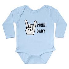 punk baby Long Sleeve Infant Bodysuit