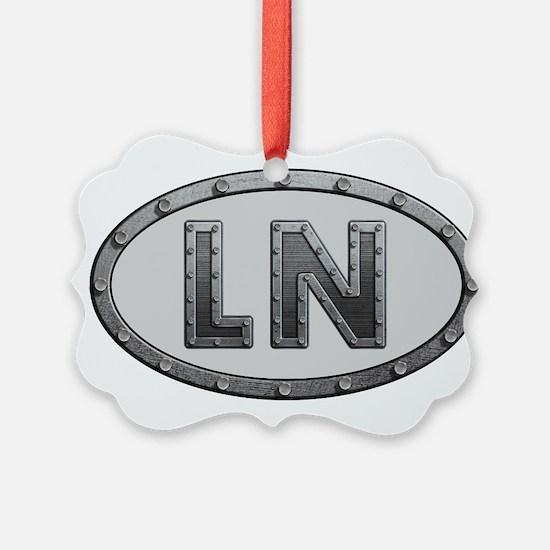 LN Metal Ornament