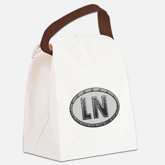 LN Metal Canvas Lunch Bag