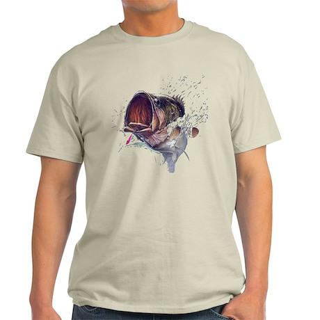 Bass breaking through Light T-Shirt