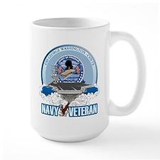 Navy Veteran CVN-73 Mug