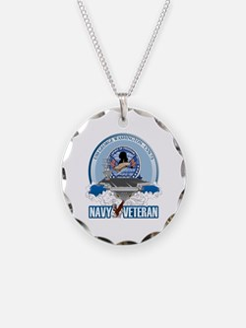 Navy Veteran CVN-73 Necklace