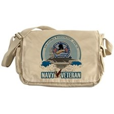 Navy Veteran CVN-73 Messenger Bag