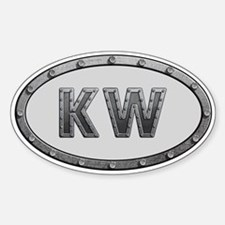 KW Metal Decal