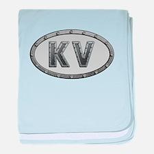 KV Metal baby blanket