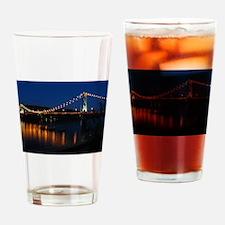 Maysville at night Drinking Glass