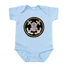 3-Bolt Dive Helmet and Anchors Infant Bodysuit
