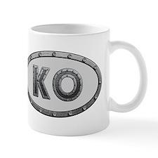 KO Metal Mug