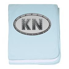 KN Metal baby blanket
