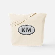 KM Metal Tote Bag