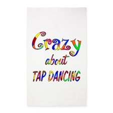 Crazy About Tap Dancing 3'x5' Area Rug