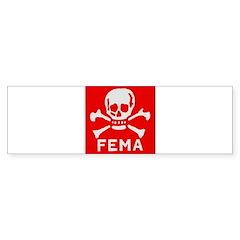 FEMA Bumper Sticker