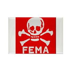 FEMA Rectangle Magnet (100 pack)