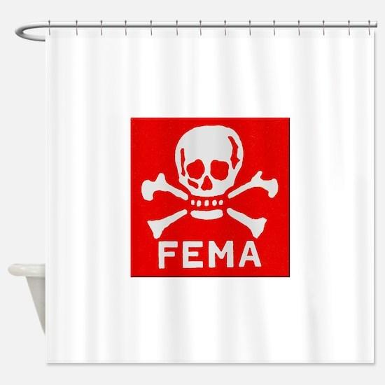 FEMA Shower Curtain