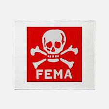 FEMA Throw Blanket