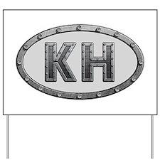 KH Metal Yard Sign
