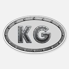 KG Metal Decal