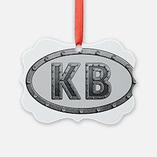 KB Metal Ornament