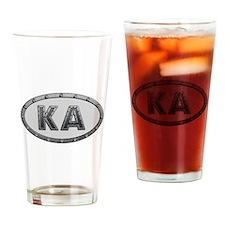 KA Metal Drinking Glass