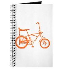 Retro Orange Banana Seat Bike Journal